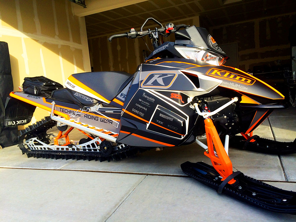 Sled Wraps For Arctic Cat Zr