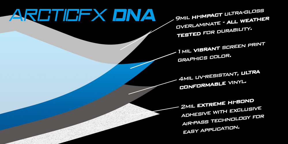 ArcticFX Graphics Vinyl and Laminate DNA
