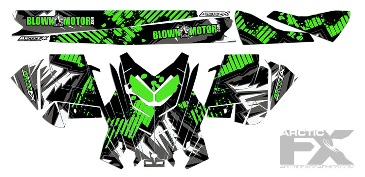 ArcticFX Graphics | Clearance Sled Wraps | Up to 75% OFF