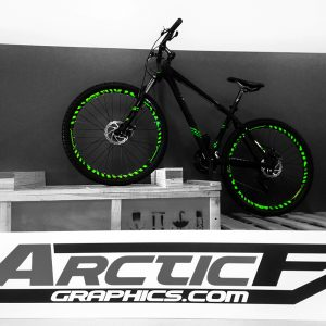ArcticFX Graphics Mountain Bike Rim Graphics MTB