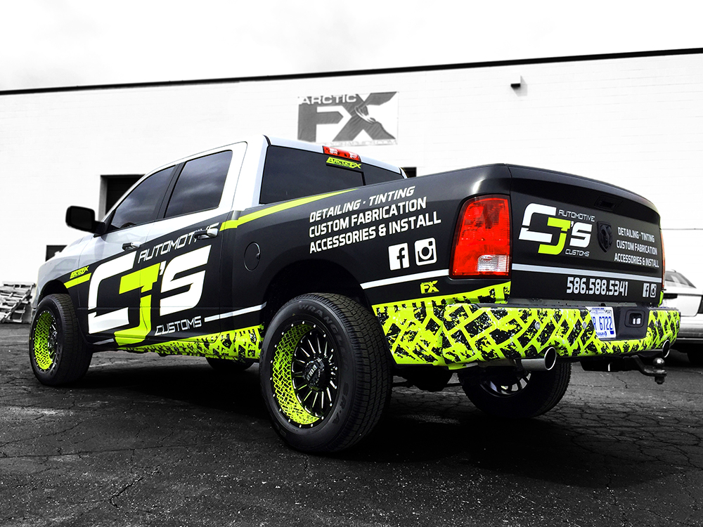 Dodge Ram Wrap >> ArcticFX Trailer and Vehicle Wraps Image Gallery