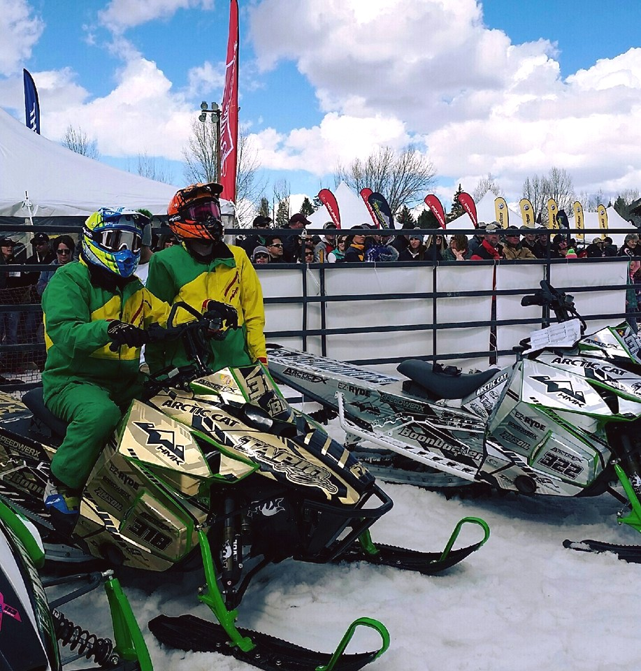Tapio Racing: Jackson Hole Hill Climbs Gold Sled