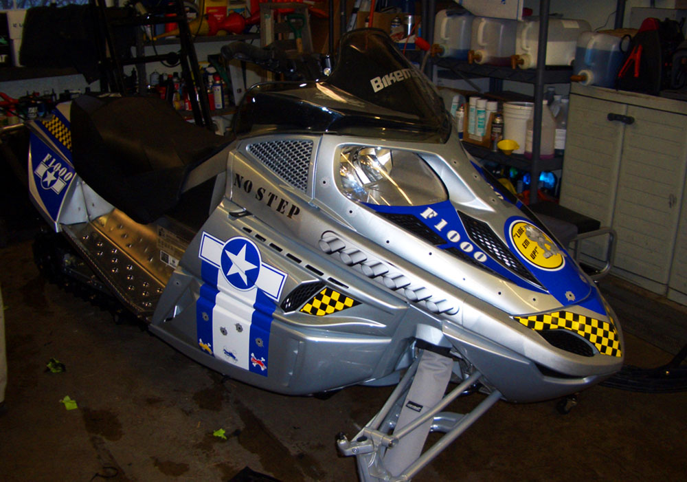 Sled Wraps For Arctic Cat F