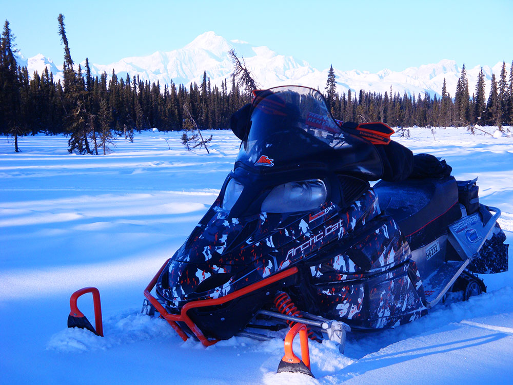 Sled Wraps Arctic Cat  F