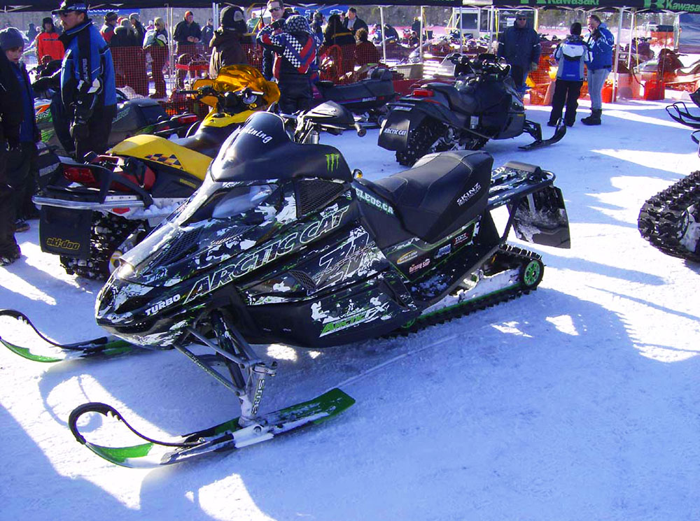 Sled Wraps For Arctic Cat F Series