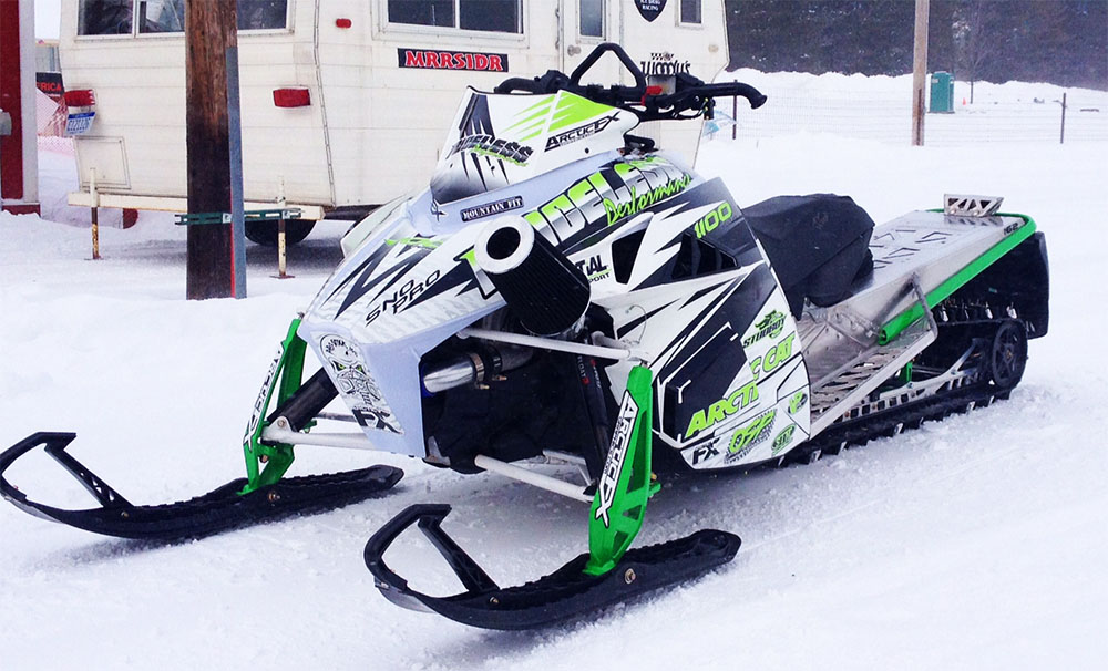 Arctic Cat Sled Wraps