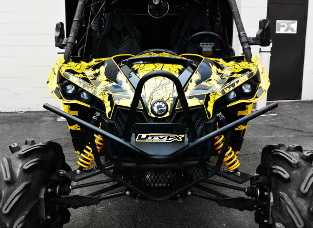 Arcticfx graphics turns this can am maverick into a beast with an all new graphics kit