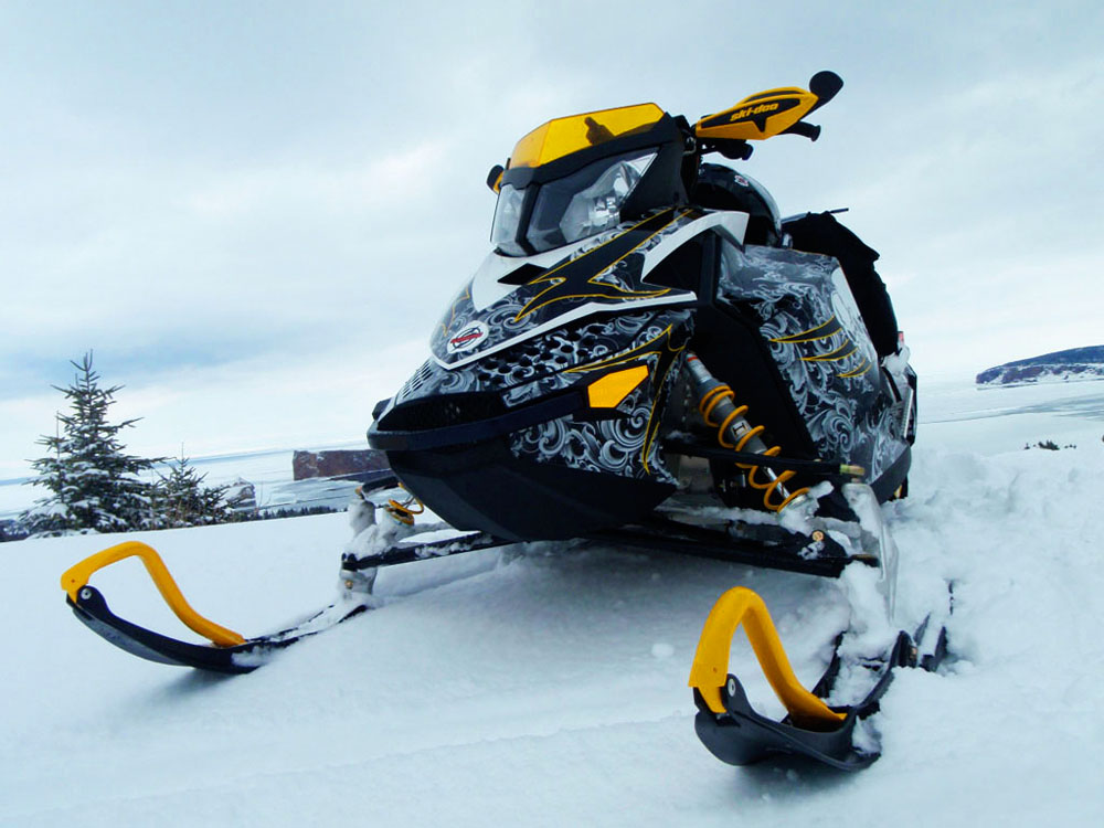 Ski Doo XP Sled Wraps Image Gallery