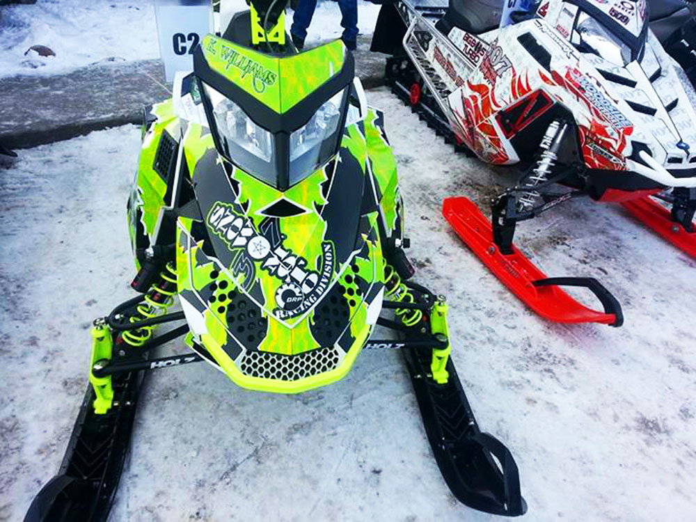 Yamaha Sled Wraps >> Ski-Doo XP Sled Wraps Image Gallery