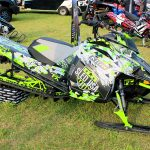 Arctic Cat Ascender M 8000 Sled Wraps from ArcticFX Graphics