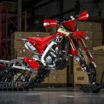 Honda CRF Snow Bike Graphics from MotoFX Graphics