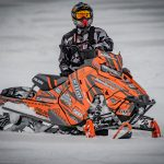 Polaris Axys ProRMK Chris Burandt Sled Wraps from ArcticFX Graphics