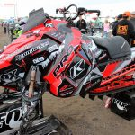 Polaris Axys ProRMK Dan Adams Sled Wraps from ArcticFX Graphics