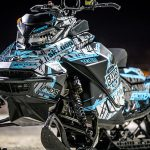 Skidoo Summit Sled Wraps from ArcticFX Graphics