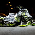 Skidoo Freeride Sled Wraps from ArcticFX Graphics
